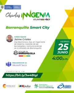 Charla iNNgenia : Barranquilla smarts city @ Microsoft Teams